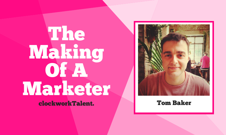 Tom Baker, The Making of a Marketer Featured