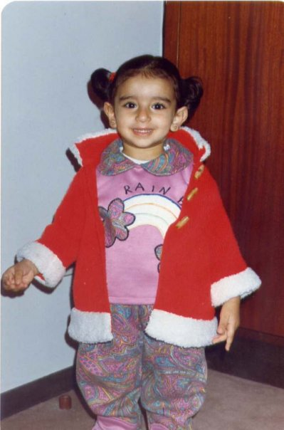 Women in tech SEO, Areej AbuAli the making of a marketer, childhood photo