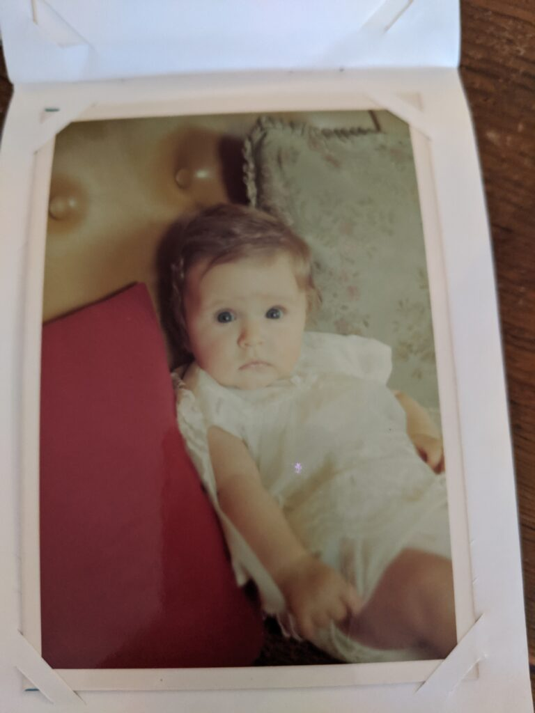 freelance SEO Pro claire carlile, the making of a marketer baby photo