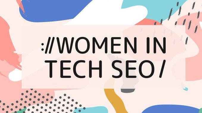 Women in tech SEO logo