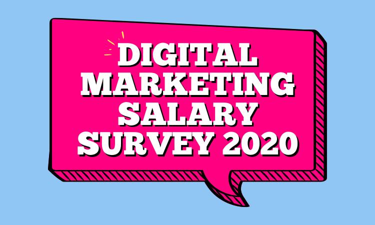 Digital Marketing Salary Survey 2020 clockworkTalent