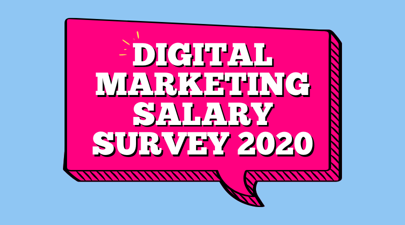 Digital Marketing Salary Survey 2020 clockworkTalent