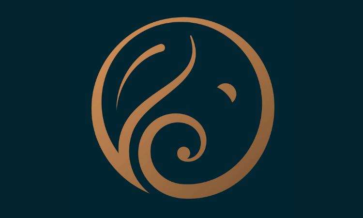 Leafy Elephant Logo