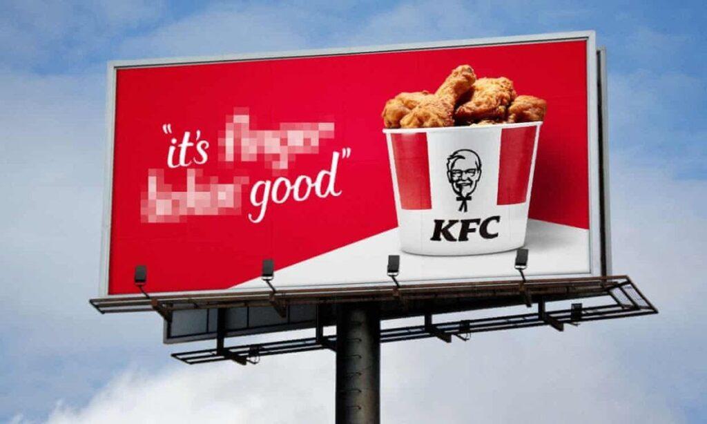 kfc covid advert